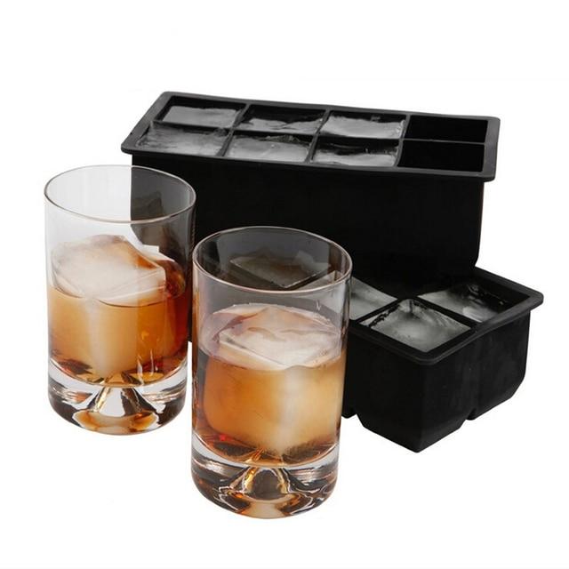Black Square Ice Mold silicone kitchen gadgets
