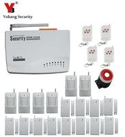 Yobang Security GSM sistema di allarme Senza Fili PIR Sicurezza Domestica Antifurto Sistema di Composizione Auto del Dialer SMS delle Chiamate