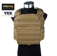 Cordura Coyote Brown тактические Военная Униформа клетка Панцири CAC плиты Перевозчик жилет Бесплатная доставка (stg050982)