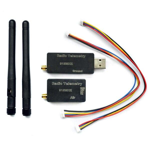 3DR Radio Telemetry Kit With Case 433MHZ 915MHZ For MWC APM PX4 Pixhawk the new single ttl 3drobotics 3dr radio telemetry kit 433mhz 100mw for apm apm2 pixhawk px4