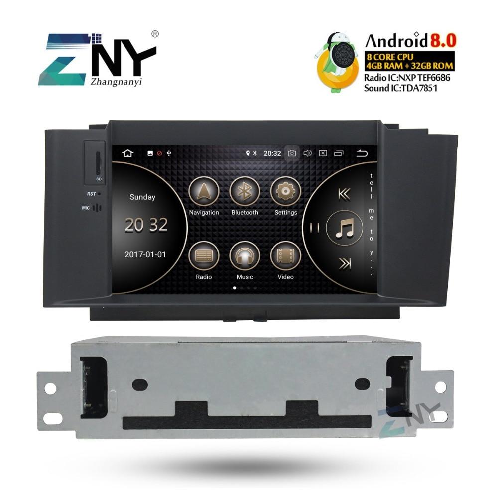 7 HD Android 8.0 auto-radio FM Pour Citroen C4 C4L DS4 2011 2012 2013 2014 2015 2016 + En Option carplay/DAB +/64 GB ROM/Perroquet BT