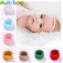 1000pcs Soft Elastic Nylon Headbands DIY Hair Bands One Size 24cm Baby Hair Band Fits All Newborns Baby Girl Hair Accessories