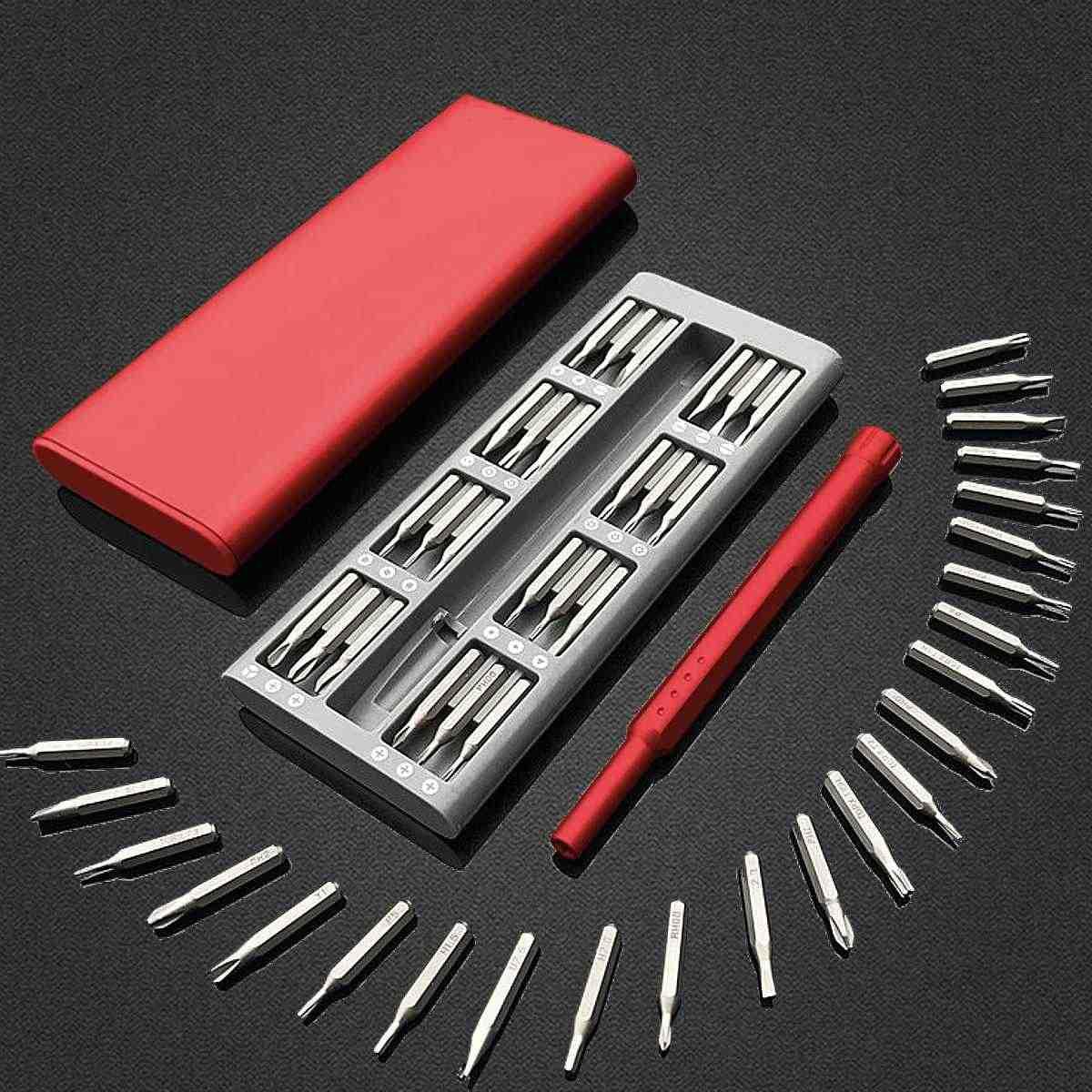 Mini Screwdriver Kit suit for Xiaomi Mijia Wiha Daily Use 25 Precision Magnetic Bits Box Screw Driver Smart Home Set Tools