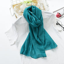 Jeseca Christmas Gift 2018 Women's Scarf Winter Warm Children Scarf Collar Thickened Cotton Soft Boys Girls Scarves 24 Color Hot(China)