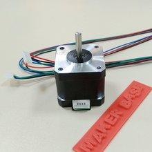 3D принтер электродвигатель МКС 4240-400 nema17 шагового двигателя двигателя по умолчанию 1A 40 мм 1.8C 0.4N низкий уровень шума низкий нагрев, высокий крутящий момент