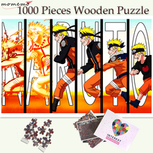 MOMEMO Narutos Growth Puzzle Toys Wooden 1000 Pieces Jigsaw Puzzles Adults Teenagers Customized Games