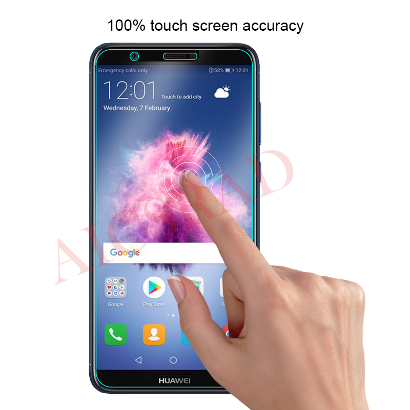 For Huawei P Smart Dual SIM Tempered Glass Huawei P Smart Screen Protector For Huawei P Smart FIG-LX1 Toughened Protective Film