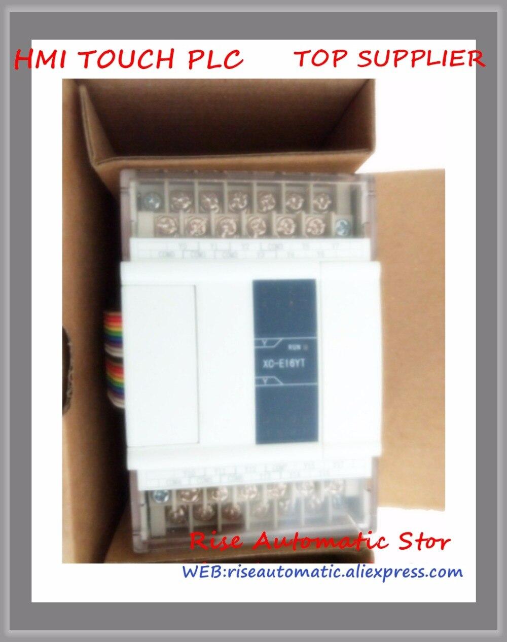 Original novo Controlador Programável PLC XC-E16YT Digital I/O Module FAZER 16 Transistor
