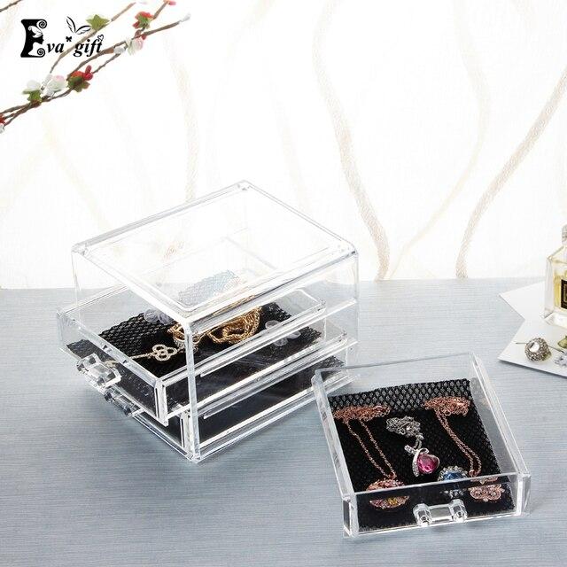 Aliexpresscom Buy Acrylic jewelry drawer box Clear Jewelry