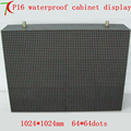 P16 water-proof cabinet full color led display