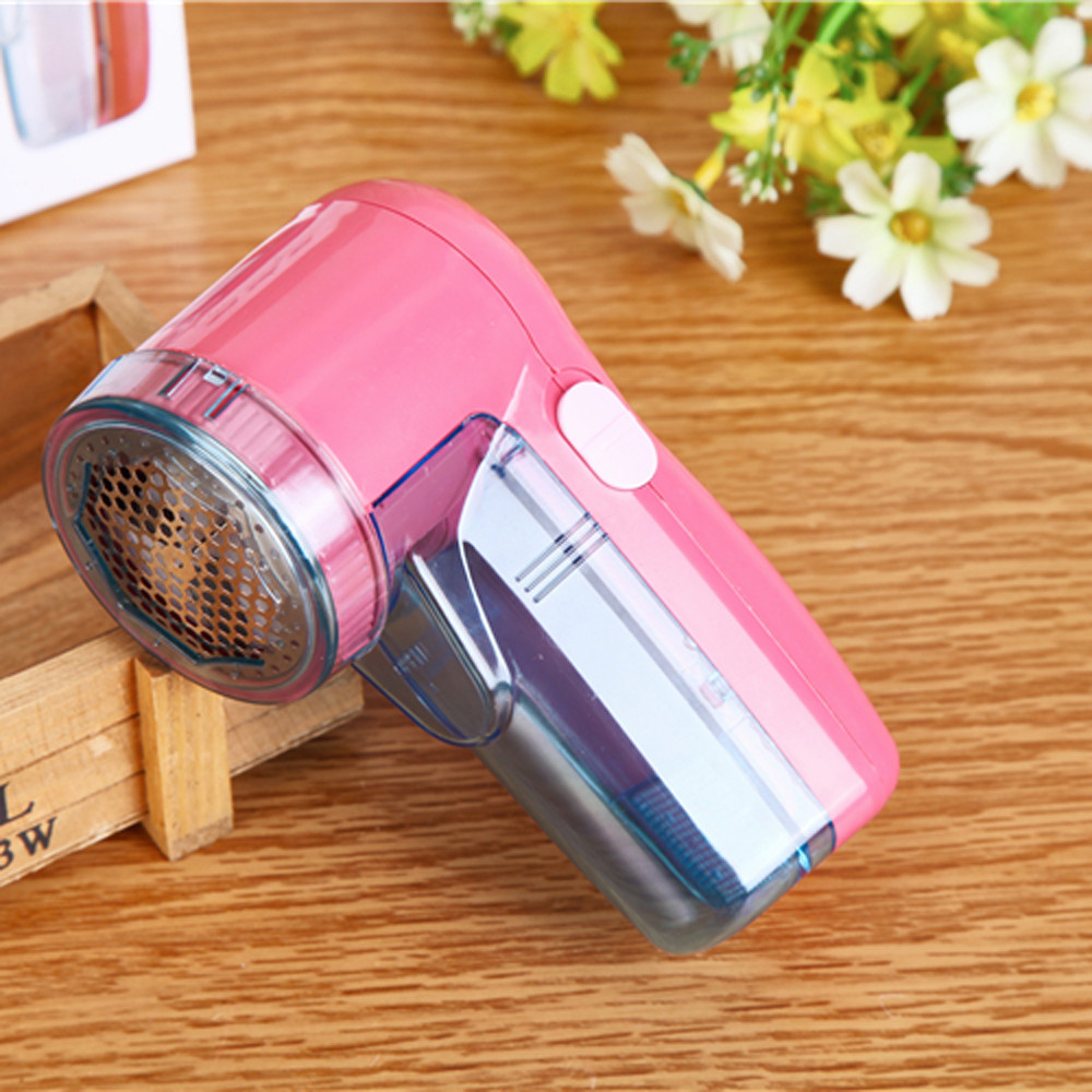 Battery Powered Portable Electric Sweater Clothes Lint Pill Fluff Remover Fabrics Fuzz Shaver Woman Lady Household Cleaning new plug in hair ball trimmer portable electric sweater clothes lint pill fluff remover fabrics fuzz shaver