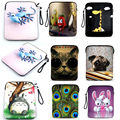 """9.7"""" Soft Neoprene Laptop Pad Tablet PC Sleeve Bag Case Cover Pouch with strap for iPad 1 2 3  4 for iPad Air 1 Air 2"""