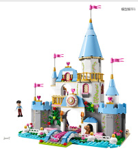 669pcs LELE 79279 Cinderella Romantic Castle Building Bricks Princess Friends Blocks Minifigure Girl Toy Compatible Legoe