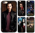 The vampire diaries case para iphone 5/5s/5se 6/6 s 7 6/7 plus 6 s plus tpupc elena damon case cubierta del teléfono para el ipod touch $ number case