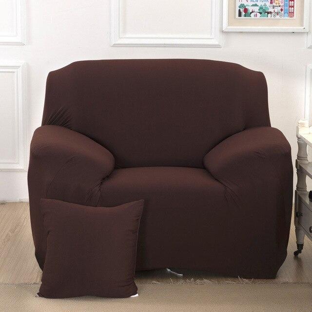 US $49.09 |Tratto solido divano cuscino per divano Mobili soggiorno Sedile  divano ad angolo covers poltrona copertina economici elastico Plaid sul ...