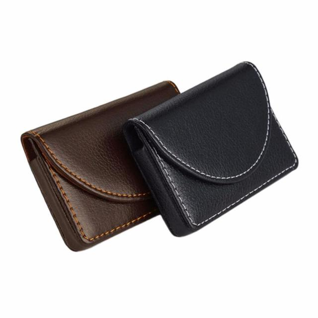 New Arrival Credit Card Package Wallet Holder Double Open Business - Porte carte aluminium