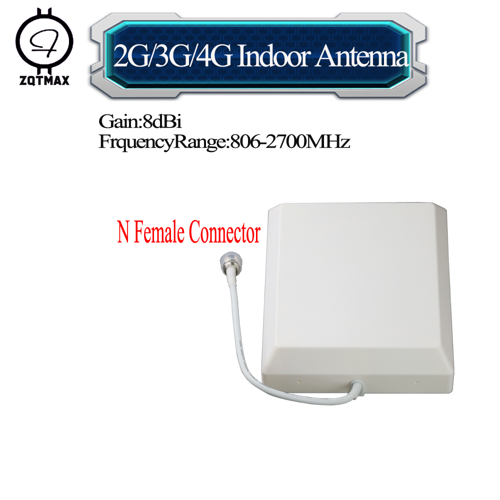 ZQTMAX 806 - 2700MHz 2G 3G 4G CDMA GSM DCS PCS UMTS LTE Panel antenna for Mobile Cell Phone Signal booster