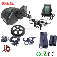 8fun/bafang BB 68MM 100MM 120MM motor 48v 750W C965 850C display BBS02b mid crank Motor eletric bicycle kits