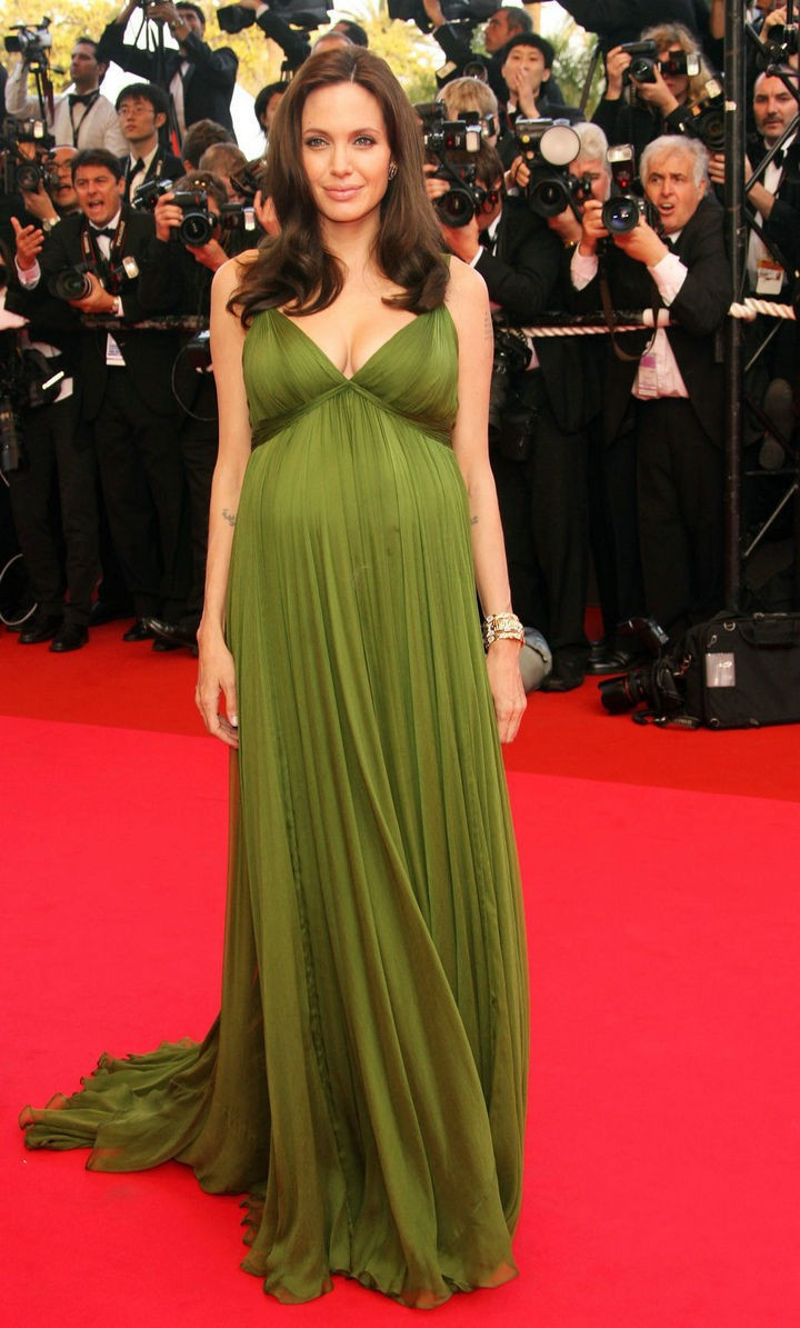 Maternity-Angelina-Jolie-Elegant-Evening-Dresses-for-Pregnant-Women-V-Neck-Chiffon-Formal-Red-Carpet-Gowns