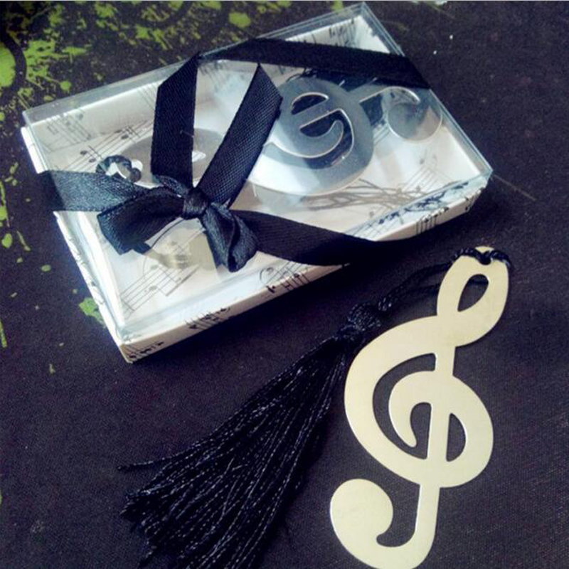 25 Pieceslot Back To School Tassel Musical Note Bookmark Wedding