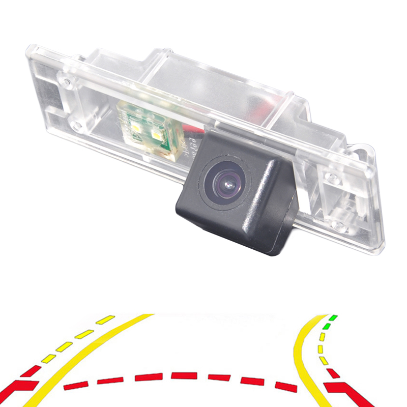 Variable Parking Line Dynamic Trajectory Tracks Car Rear View Backup Parking Camera For BMW 120i E81 E87 F20