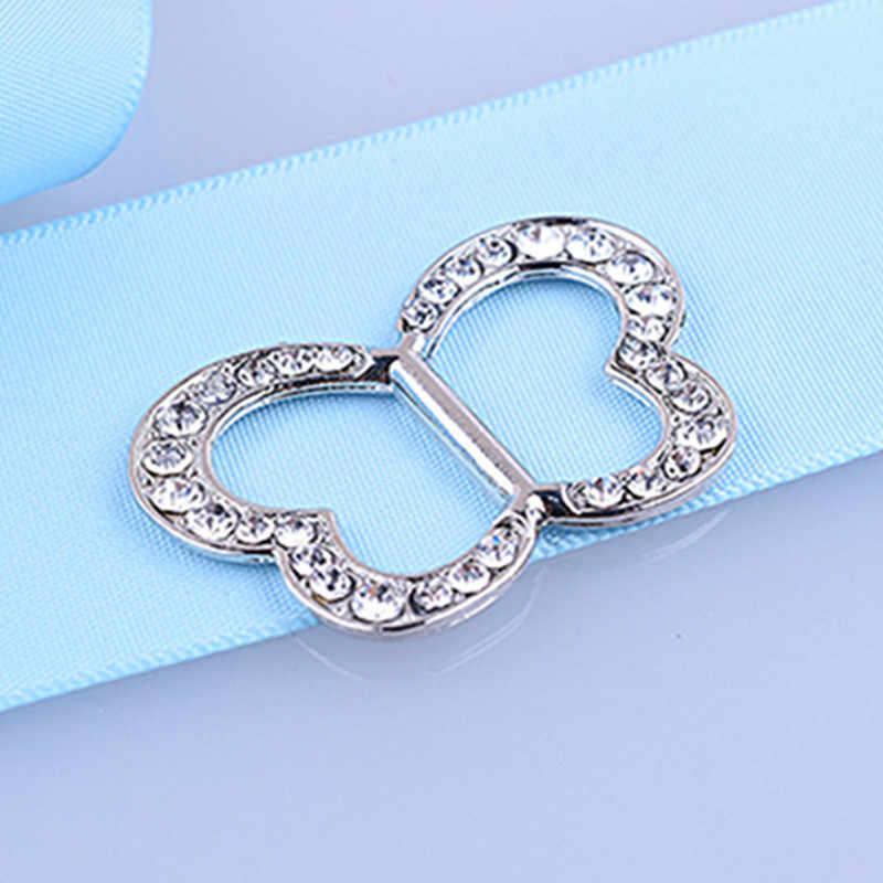 Moda coreana simples feminino borboleta strass cachecol fivela broche clip forma do coração xale fivela nova charming presente jóias