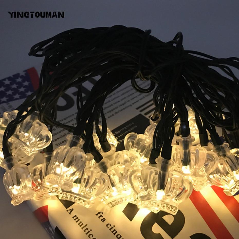 Yingtouman 20LED 5 м лотоса Тип Солнечная Светодиодные лампы строка огни Рождество для отдыха и вечеринок украшения свет сад Декоративные светильн...
