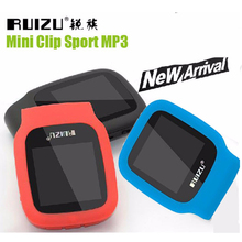 Nuevo Llega Original RUIZU X09 Deporte Reproductor de MP3 4 gb Mini Puede Jugar 30 Horas, con FM, E-libro, Reloj, reproductor de Música MP3 walkman de Datos