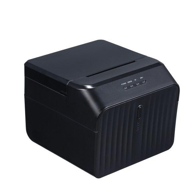 High Quality USB Printer Thermal Receipt Printers Qr Code Sticker Adhesive Printer 58mm UK Plug
