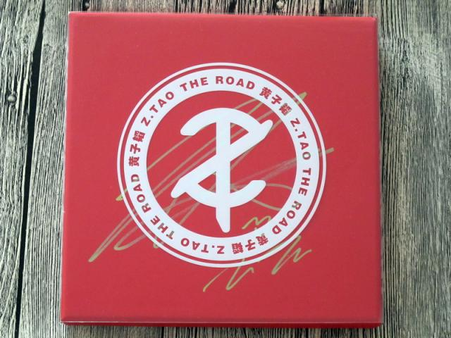 TAO  Z.TAO autographed authentic signed  album 2016 The Road 2CD+DVD limited version 012017 the road to hell cd
