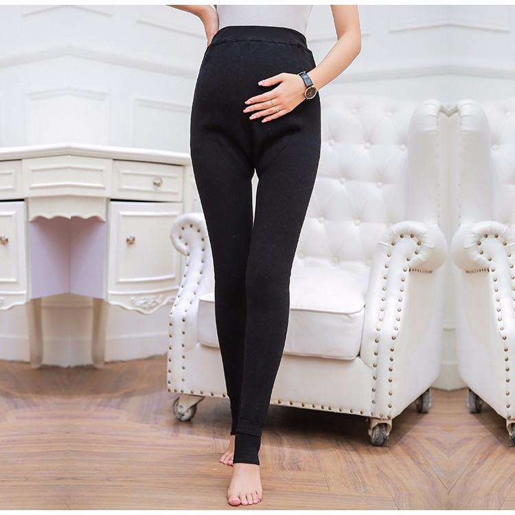 acea08861221c 6 Styles Winter Velvet Warm Clothes for Pregnant Women Plus Size ...