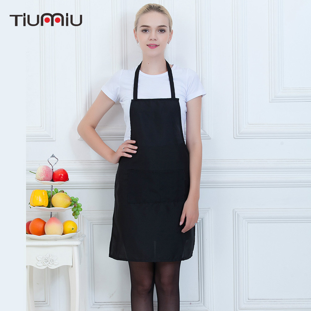 Chef Waiter Waitress Aprons Straped Halter Neck Long Aprons Restaurant Hotel Kitchen Chef Workwear Cafe Food Service Apron