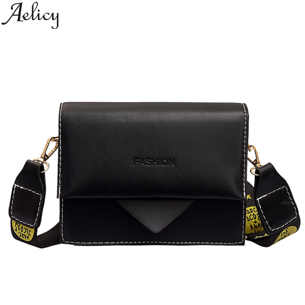 Aelicy Women Lether Small Square Bag Personality Wild Solid Color Shoulder Bags Clutch Bag For Women Messenger Mobile Phone Bag