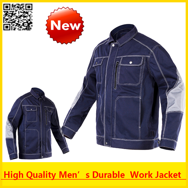 High quality Men outdoor workwear multi-pockets  work jacket  outwear  free shipping