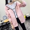 New short jacket female Korean version of the student jacket sunscreen long-sleeved baseball clothing women