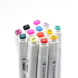 Image 5 - TOUCHFIVE White Markers Graffiti Pens Twin Marker Sketch Alcohol based Dual Tip Art Markers 60 Color Set ,for Designing, Drawing