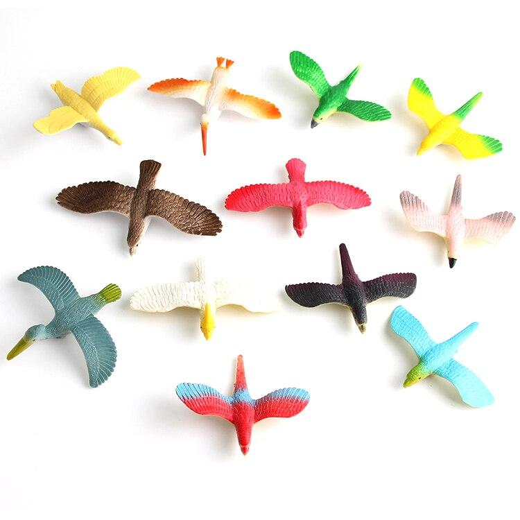 Simulation-Birds Cognitive-Model-Set Animal-Toys Children for Early-Childhood The 12pcs/set/48pcs