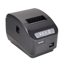 lxhcoody XP-Q200II thermal printer USB port POS 80mm thermal receipt printer USB+Serial/LAN 80mm kitchen printer usb and serial interface 80 mm thermal receipt printer with cutter support cash drawer print for sale auto cut 80 serial printer