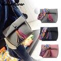 Famoso Designer Bolsas Bolsas De Couro Borla Mulheres Alça de Ombro Colorido Bolsa Da Embreagem Saco Ocasional Tote Bag Bolsos Mujer