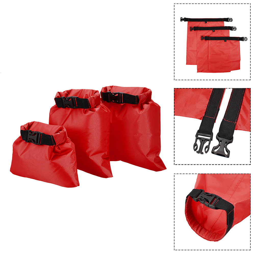 Image 3 - 1L+2L+3L Waterproof Dry Bag Pack Sack Swimming Rafting Kayaking River Trekking Floating Sailing Canoing Boating Water Resistance-in Storage Bags from Home & Garden