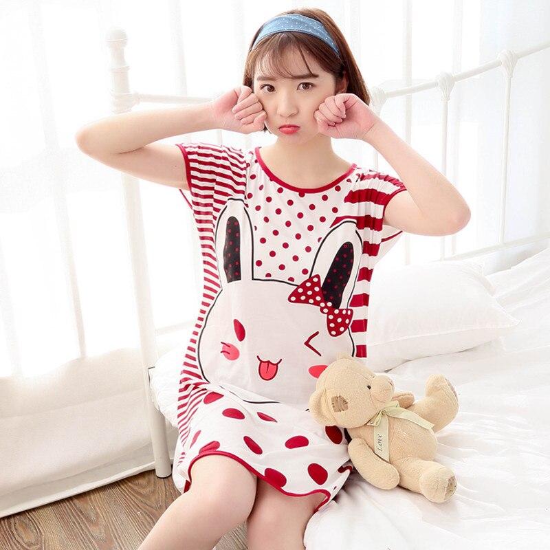 sleepwear women home dress night shirt ladies nightwear 1203