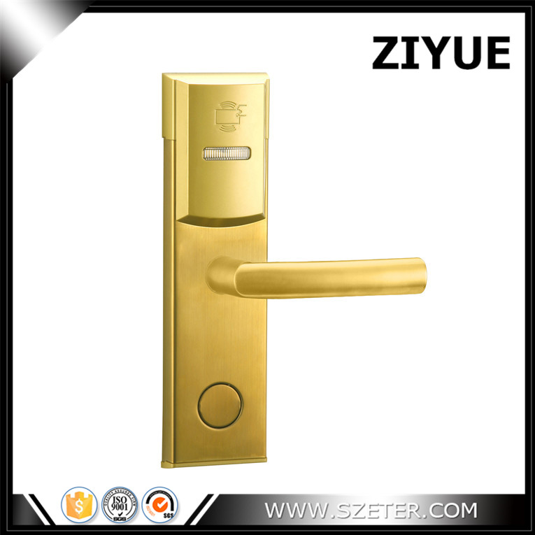 Intelligent electric Hotel RFID Lock System RF Hotel Lock for Door ET106RF electronic hotel lock rfid intelligent lock system aa batteries powered