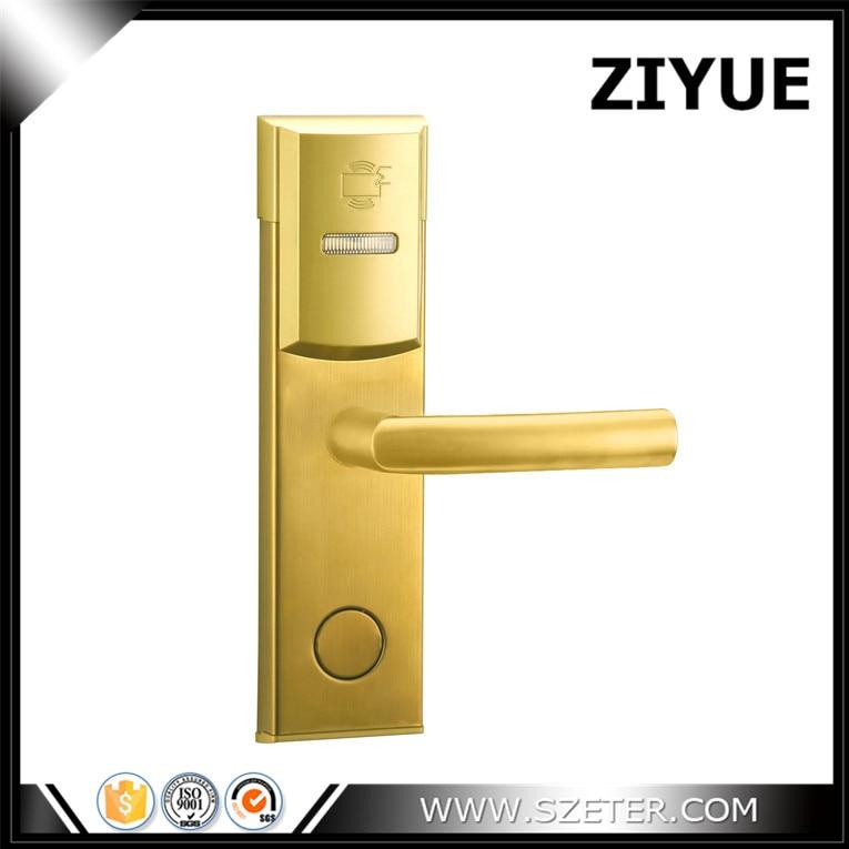 intelligent electric Hotel  RFID Lock System RF Hotel Lock for Door ET106RF hotel lock system rfid t5577 hotel lock gold silver zinc alloy forging material sn ca 8037