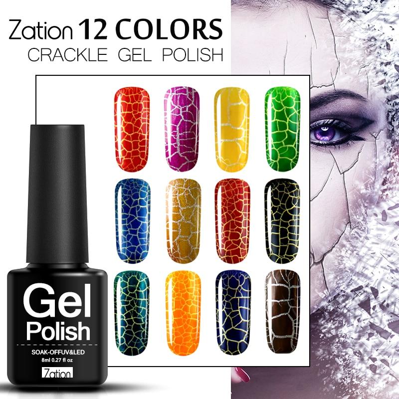 Aliexpress.com : Buy Zation Cracking Gel Polish Crack Nail