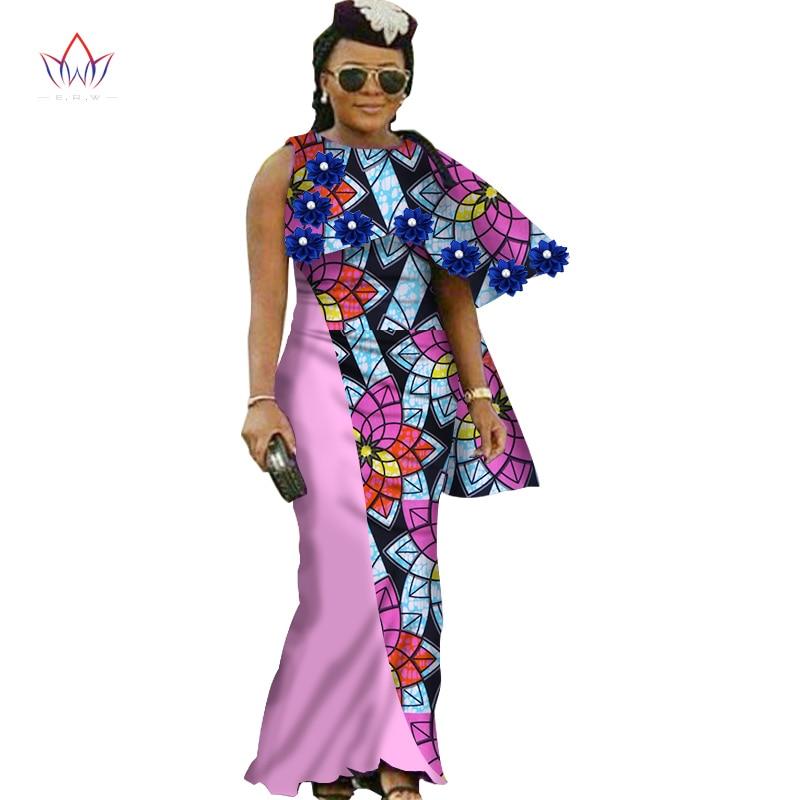 2017 vestidos africanos para las mujeres nuevo Diseño dashiki - Ropa nacional