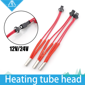NEW!!!Reprap12V/24V 40W Simple replacement M6*20/15/30 A end line length Ceramic Heater Cartridge for 3D Printer Mendel
