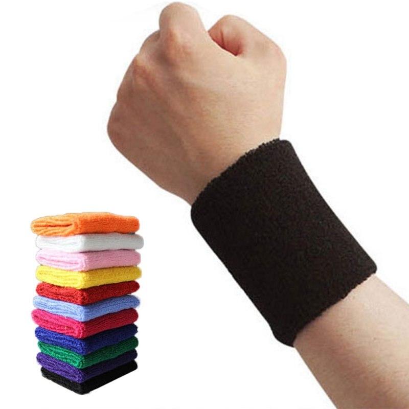 Muntilfunctional Wrist Sweat Band Sports Fitness Running Gym Sweatband Fitness
