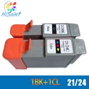 ¡Nuevo! cartucho de tinta hisaint BCI 21 24 para Canon BCI-21 BCI-24 para impresora Canon i250 i320 i350 i450 i470 i455 i475 ip1000 ip1500