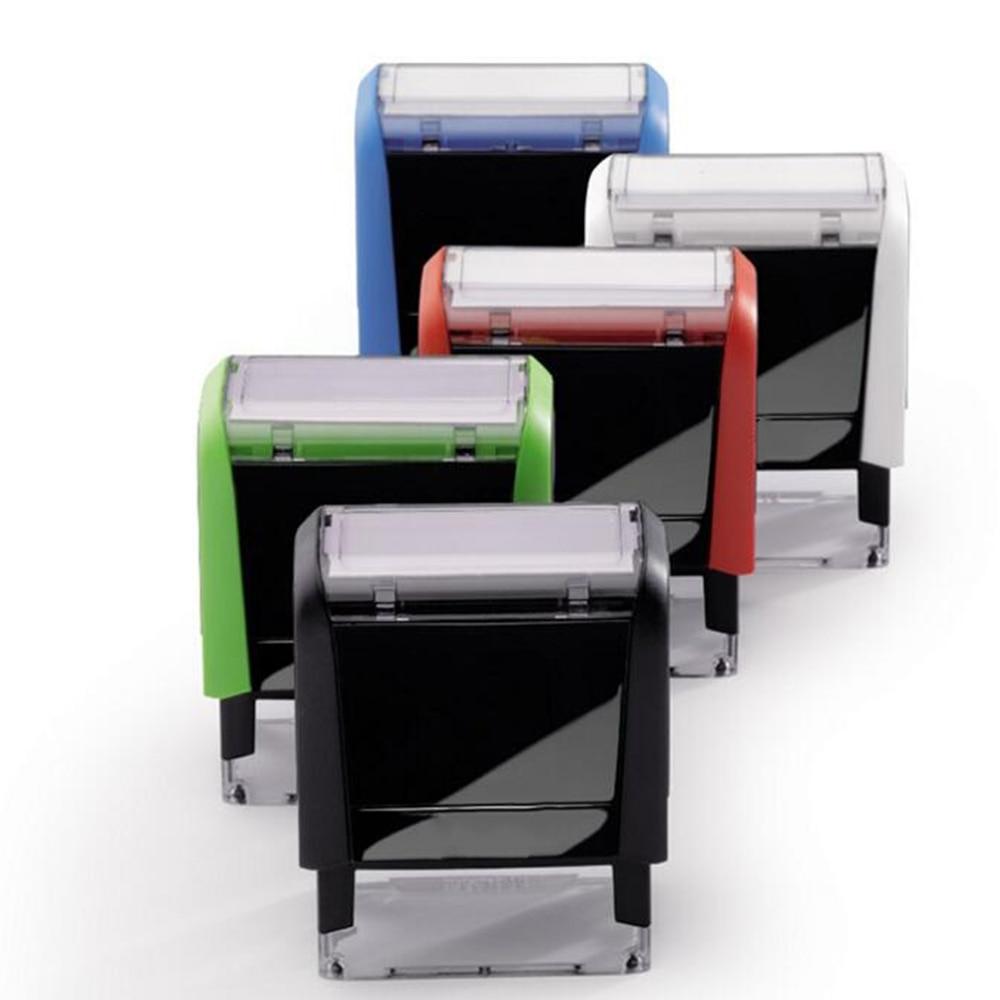 BBloop Customizable Self-Inking, Personalized, Rectangular, Laser Engraved Rubber Stamp