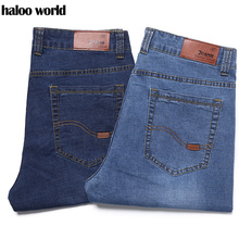 PLUS Size  28-50 Men's Denim Shorts Good Quality Short Jeans Men Cotton Solid Straight Short Jeans Male Blue Casual Short Jeans